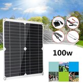 100W Solar Panel Kit 12V 30A DIY Solar System Phone Chargers Portable Solar Cell Outdoor Camping Travel