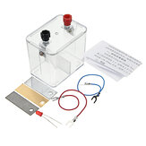 Primary Cell Experiment Kit Chemistry Galvanic Cell Box Holder Case