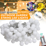20/50 / 100LED Globe Bulb String Light USB Powered Outdoor Party Yard Room Decoration Fairy Lamp met afstandsbediening