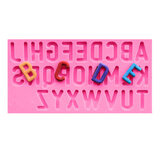 Food Grade Silicone Cake Mould DIY Chocalate Cookies Ice Tray Baking Tool Letters Of Alphabet