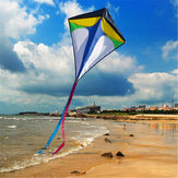 26 '' × 30 '' Diamond Delta Kite Outdoor Sports Zabawki dla dzieci Single Line Blue Toys