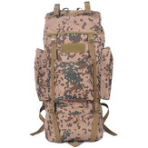 65L Tactical Trekking Backpack Rucksack Camo Shoulder Bag For Camping Hiking