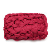 Ręcznie tkany koc 120 * 150 CM Dzianina Soft Ciepła gruba wełniana narzuta na tekstylia domowe