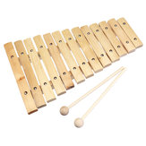 13 Tone Wooden Xylophone Musical Piano Instrument for Children Kid