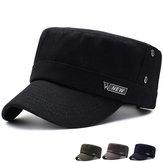 Cappelli piatti selvaggi di colore solido del cotone di Vogue delle donne degli uomini
