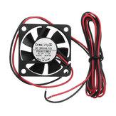 Creality 3D® 40 * 40 * 10 mm 24 V de alta velocidad DC Sin escobillas 4010 Ventilador de boquilla para impresora 3D Ender-3
