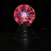 3 Zoll USB Plasma Ball Kugel Kugel Lightning Light Crystal Lamp Globe Laptop