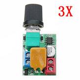 3 pz DC 5V A 35V 5A Mini Motor PWM Regolatore di velocità Ultra Small LED Dimmer Speed Switch Governor