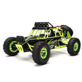 WLtoys 12427 2.4G 1/12 4WD Crawler RC Car Dengan LED Light