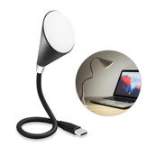 Sammenfoldelig trådløs Bluetooth-højttaler Dual-farve LED-lampe USB Strømforsyning Desk Lampe Musik LED-lampe
