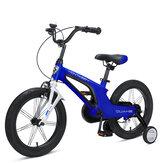 MONTASEN 14/16-Zoll-Kinderfahrrad mit Seitenrädern Höhenverstellbare Kinderfahrräder für 4-8-Jährige