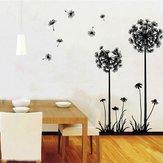 الهندباء الجدار ملصق غرفة المعيشة ديكور المنزل ديكور المنزل الإبداعية صائق دي جدارية جدار الفن