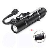 Astrolux S1 XPL 1600LM 7/4modes LED Flashlight 18650/18350