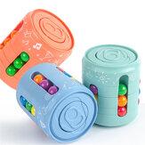 1 peça lata girando forma mágica Cube bola de brinquedo de descompressão Little Bean quebra-cabeça mágico para crianças educação jogo de descompressão presente
