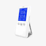ポータブル空気質検出器充電式HCHO TVOCテスター温度湿度計目覚まし時計