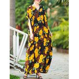 Baggy Floral Maxi Dress