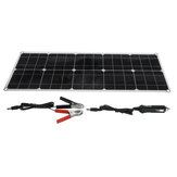 Original              18V Flexible Solar Panel 150W 5V Dual USB Power Bank Solar Panel Kit Complete with Controller for Outdoors Boat Smartphone