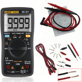 ANENG AN8009 True RMS NCV Digital Multimeter 9999 Counts Backlight AC DC Current Voltage Resistance Frequency Capacitance Temperature Tester ℃/℉ Black