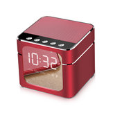 Bakeey Q5 Wireless bluetooth Speaker Digital Alarm Clock LED Display TF Card Handsfree Speaker
