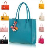 Women Multi Colors Handbag Shopping Bag Casual Tote Bag