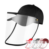 Détachable Anti-Salive Anti-Poussière Full Face Protection Hat Outdoor Face Shield Screen Protective Safety Mask