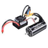Racerstar 4076 Bezszczotkowy wodoodporny silnik bezczujnikowy 2000KV 120A ESC 1/8 Cars RC Car Parts