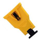 Gelber Kettensägen-Zahnschärfer Kunststoff-Kettensägenschärfer Kettensägen-Kettenschärfer Satz