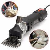 480W AC 110-220V Elektrikli Yün Makası Çiftlik Hayvanı Saç Clippers