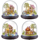 DIY Music Box Dolls House Dollhouse Handmade Miniature Kids Kits Toy Gift