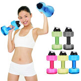 2.5L Grote Capaciteit BPA Gratis Gym Training Drink Dumbbell Water Bottle Travel Sport Cup Waterkoker
