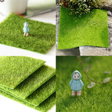 30 * 30 cm Kunstig faux havegras Græsplæne Moss Miniature Craft Ecology Decor