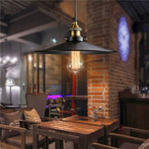 Retro Industrial Iron Vintage Hanging Pendant Lamp Retractable Ceiling Chandelier  Lamp AC220V