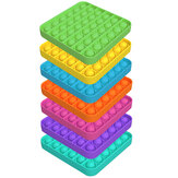 Push Bubble Sensory Toy Square Anti-stress Push it Fidget Reliever Funny Education Puzzle Toy for Adults Kids Creative Gifts