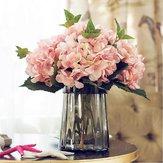 Искусственныйкалифорнийскийгортензийскийшелковыйцветокдля Свадебное Праздничный праздничный декор Ведущий шелковый ш