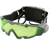 Night Vision Goggles Lens Justerbar Elastisk Band Naturglas Eyeshield Worldwide Green