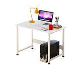 Biurko komputerowe Duży pulpit stacjonarny Stół jednopłytkowy Biurko komputerowe do nauki Nowoczesne biurko domowe Sypialnia Biurko do biura domowego