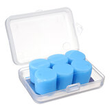 3 Pair/Case Waterproof Ear Plug Soft Silicone Anti-Noise Swimming Earplugs For Water Sports