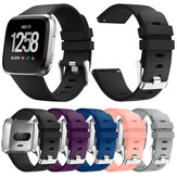 23mm Silicone Watchtband Replacement For Fitbit Versa