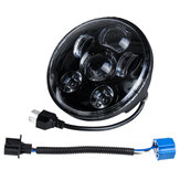 5.75 Inch H4 H13 Motorcycle LED Headlights Sealed Projector Hi-Lo Beam Head Lamp For Harley