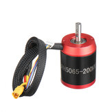 Racerstar 5065 BRH5065 200KV 6-12S Brushless Motor Red Without Gear For Balancing Scooter