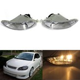 Car Bumper Fog Lights Front Lamps Left Right For Toyota Corolla 05-08