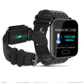 Bakeey A6 Sleep HR Blood Pressure Oxygen Monitor IP67 Waterproof Camera Smart Watch