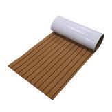 450x2400x5mm Marine Flooring Faux Teak Zelfklevende EVA Teak Decking Sheet