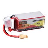 ZOP Power 14.8V 1500mAh 100C 4S Lipo Bateria XT60 Plug para Shen Drones Squirt V2