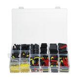 708pcs connecteur de fil électrique plug 1-6 broches façon étanche ensemble étanche avec fusibles à lame