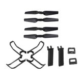 Eachine E58 RC Drone Quadcopter Spare Parts Crash Pack Kits Propeller Blade Set With Clip Props Guard Landing Gear
