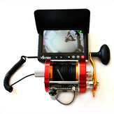 ZANLURE AHD Fishing Finder 5inch Screen 220° Underwater Camera Waterproof River Lake Ice Fishing Camera Fishing Tackle with 50kg Pulling 28m Line