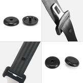 10PCS Car Auto Seat Belt Buckle Holder Stop Clips For Ford Black