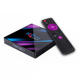 H96 MAX RK3318 4 ГБ RAM 64GB ROM 5G WIFI Bluetooth 4.0 Android 10.0 4K VP9 H.265 TV Коробка Поддержка Youtube 4K