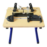 Mini Benchtop W012 Router Table dengan Stand Woodworking Table Trimmer Router Table